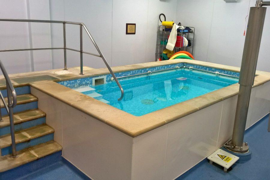 piscina riabilitazione in acqua