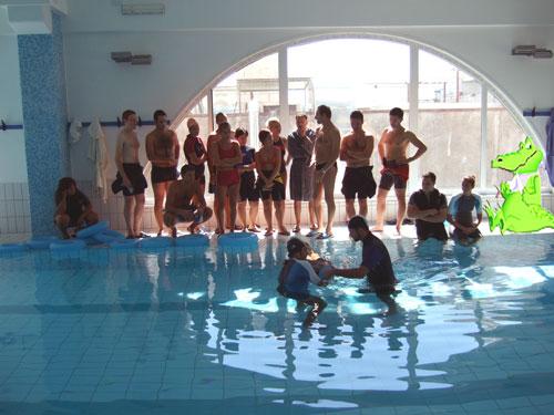fisioterapia in acqua