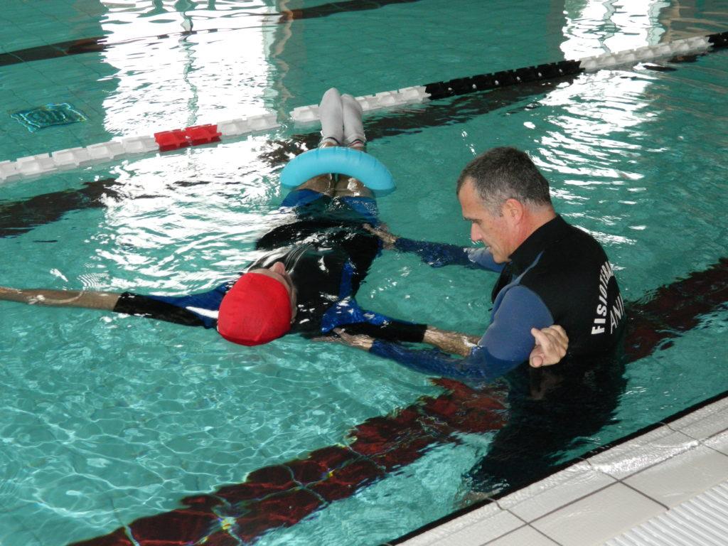 Idrokinieisterapia Fisioterapia in acqua